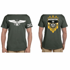 NEW DESIGN - Military Green Instructor Shirt