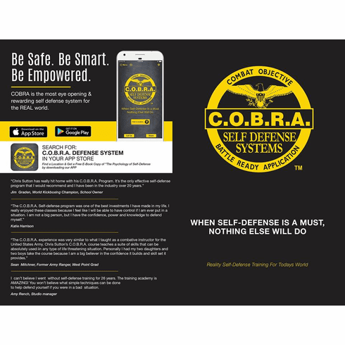 Official COBRA Brochure - 250 COUNT