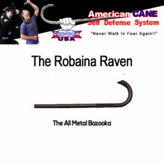 Raven Cane Self-Defense Tool