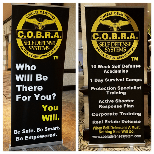 Vertical Presentation Banners / Stand Included - Pick ONE or BOTH