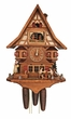 Musical Cuckoo Clock  Beer Drinker Anton Schneider 8 Day Movement