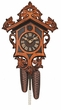 Unique Crafted Cuckoo Clock Anton Schneider Germany