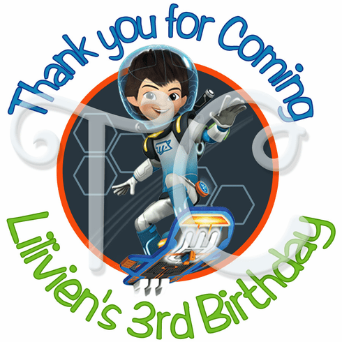 24 Miles from Tomorrowland personalized Stickers
