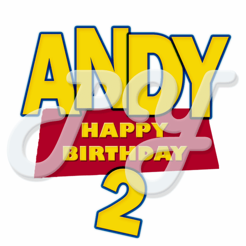 24 Toy Story Personalized Stickers