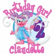 Abby Cadabby Personalized  Birthday t shirt