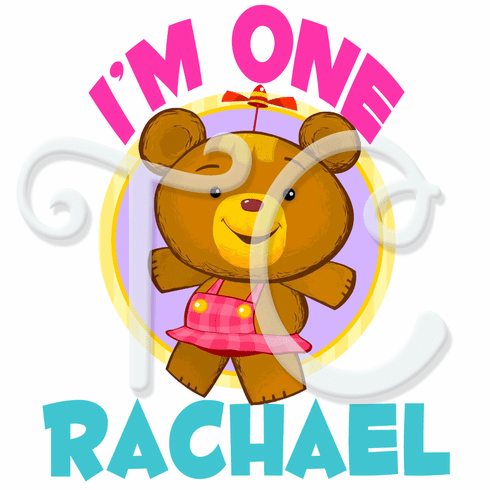 Baby First TV Bonnie Bear personalized birthday t shirt