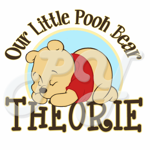 Baby Winnie the Pooh personalized t-shirt