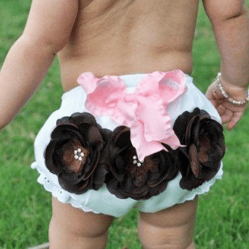 Brown and Pink Posh Bloomers