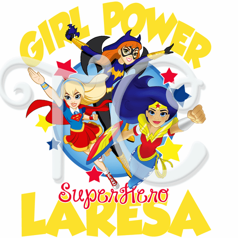 DC Superhero Girls Personalized t shirt