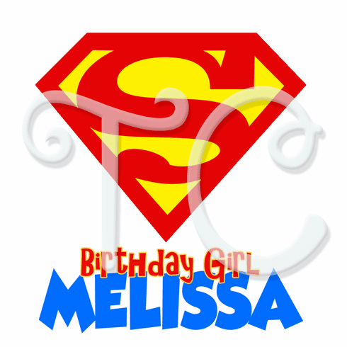 DC Superhero Girls Supergirl Personalized Birthday t shirt