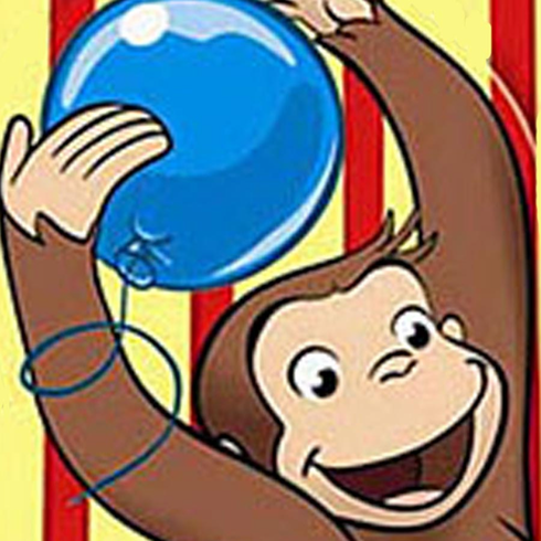 Deluxe Curious George Personalized Party Pack
