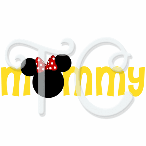 Disney Minnie Personalized Family t shirt