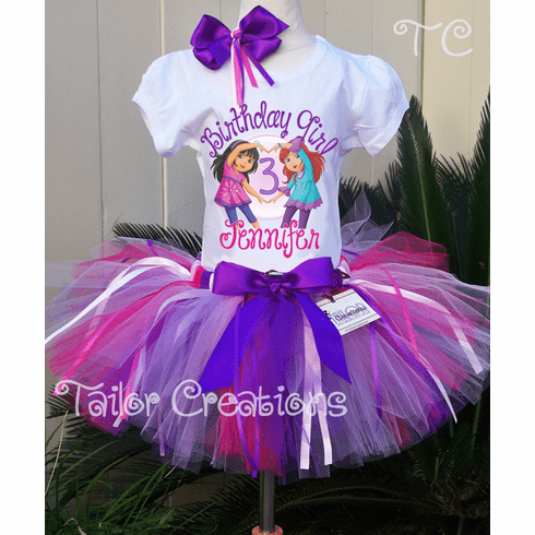 Dora the Explorer Personalized Birthday Tutu Set