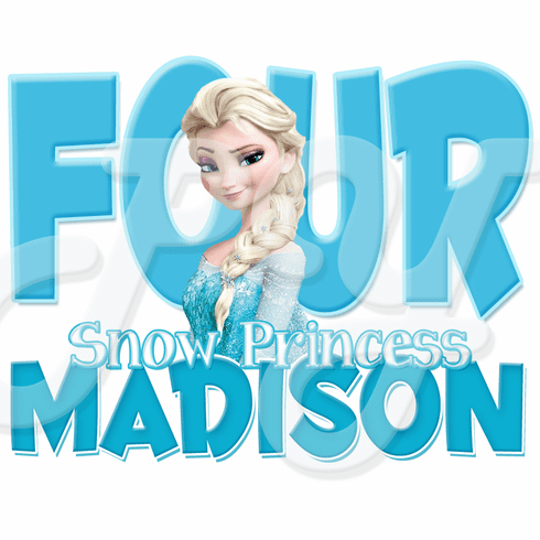Frozen Elsa Personalized Birthday t-shirt