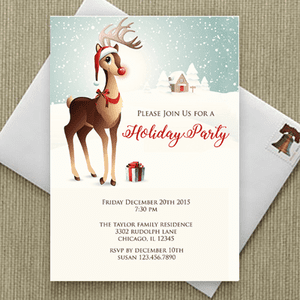 Holiday Greeting Cards & Party Invitations