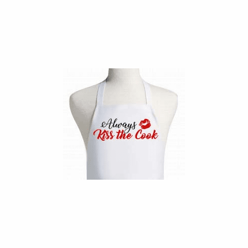 Kiss the Cook Personalized Apron