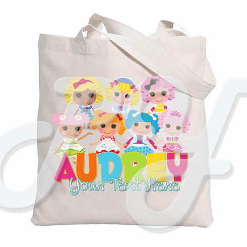 Lalaloopsy Personalized Canvas Tote bag