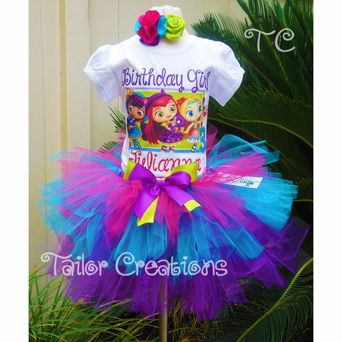 Little Charmers Personalized Birthday Tutu Dress Set