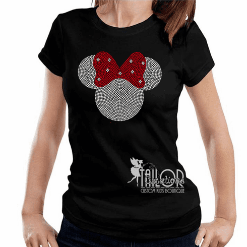 Minnie Mouse Rhinestone Shirt