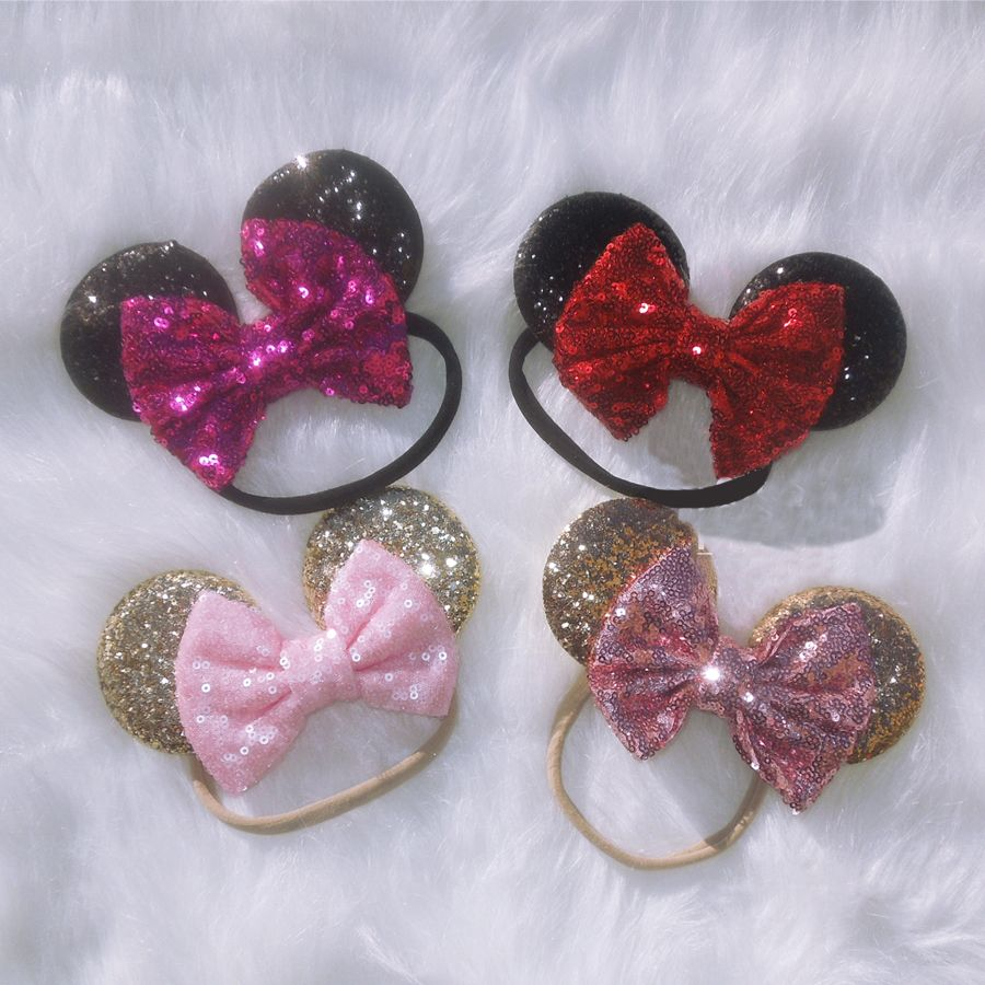 Minnie Mouse Infant baby barefoot sandal