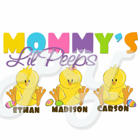 My Peeps Personalized easter t shirts