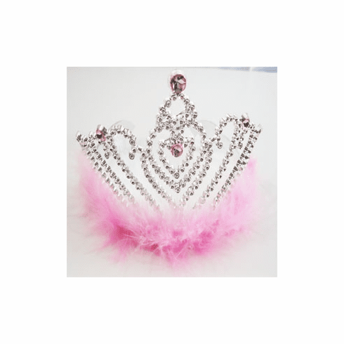 Pink Heart Princess Tiara