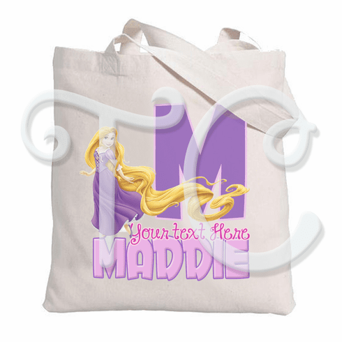 Rapunzel Tangled Personalized Tote Bag