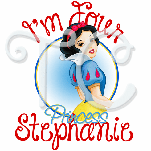 Snow White Personalized Birthday t shirt