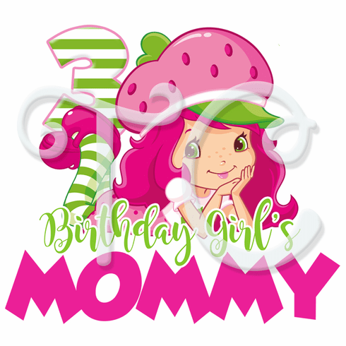 Strawberry Shortcake Personalized Family Shirt
