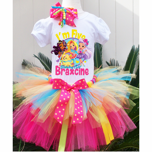 Hot Air Balloon Birthday Tutu Outfit ~ Oh Ribbon Trim Tutu /& Hair Bow ~ Any colors!! The Places You/'ll Go Outfit ~ Includes Top