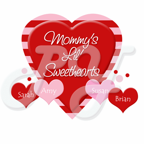 Sweetheart's Personalized Valentine's Day t-shirt