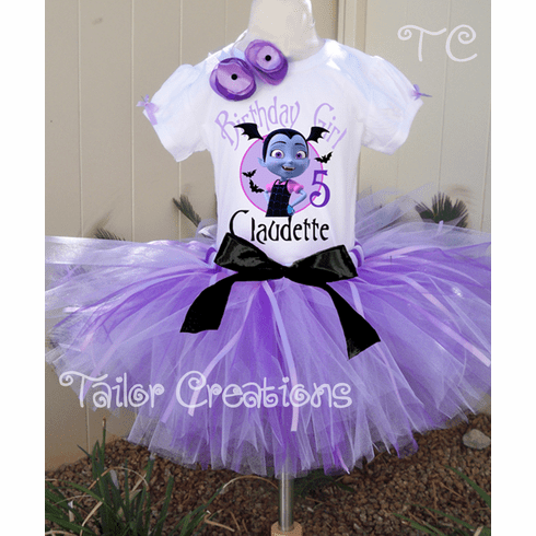 Vampirina Personalized Birthday tutu set