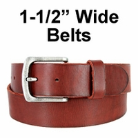 "1 1/2"" Wide Belts"