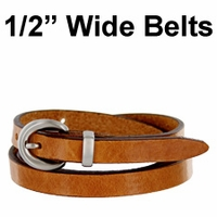 "1/2"" Wide Belts"