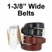 "1 3/8"" Wide Belts"