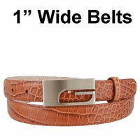 "1"" Wide Belts"