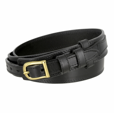 """1018 Traditional Ranger Full Grain Smooth Leather Belt - 1 1/2"""" - 3/4"""" Billet - AVAILABLE UP TO SIZE 54"""""""