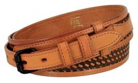 "1019 Traditional Western Basket-weave Ranger Belt - 1 1/2"" - 3/4"" Billet"