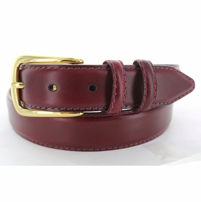 "1140 Dress Leather Belt - 1 1/8"" wide"