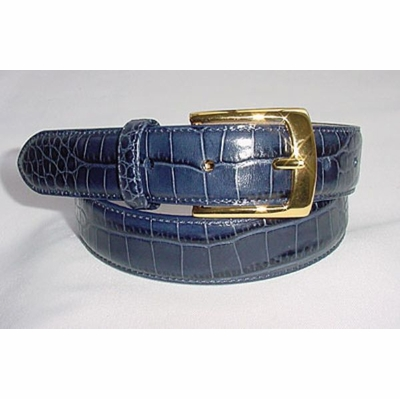 "1141 Men's Leather Dress Belt - 1 1/8"" wide"