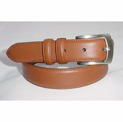 "1142 Leather Dress Belt - 1 1/8"" wide"