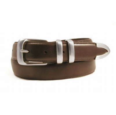 "1278 Calfskin Leather Dress Belt - 1 1/4"" wide"