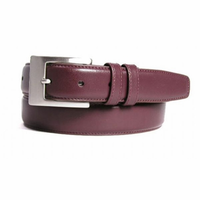 "1279 Men's Leather Dress Belt - 1 1/4"" wide"