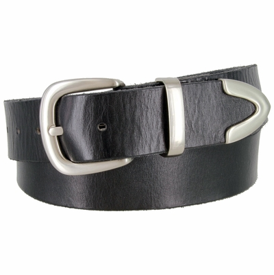 "1392 Casual Dress Full Grain Leather Belt - 1 1/2"" Wide"