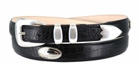 1401 Leather Dress Belt - Up to size 60""