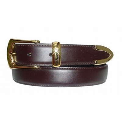 "1407 Dress Leather Belt - 1 1/8"" wide"