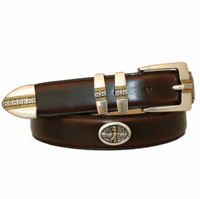 1421 Smooth Leather Golf Belt