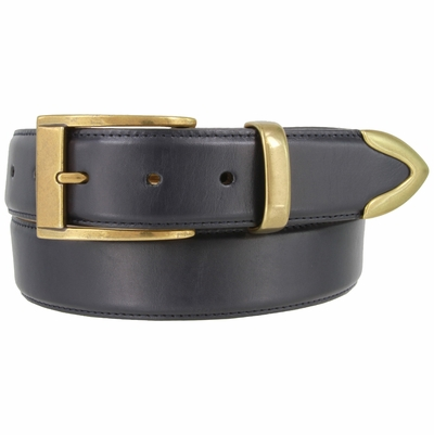 "1450 Proffesional Italian Calfskin Leather Casual Belt - 1 3/8"" wide"