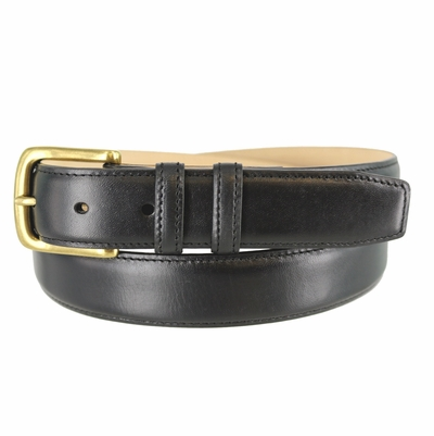"1466 Calfskin Smooth Leather Belt - 1 1/4"" wide"