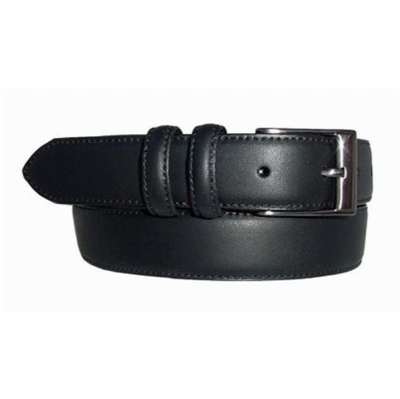 "1472 Dress Leather Belt - 1 1/8"" wide Available up to size 60"""